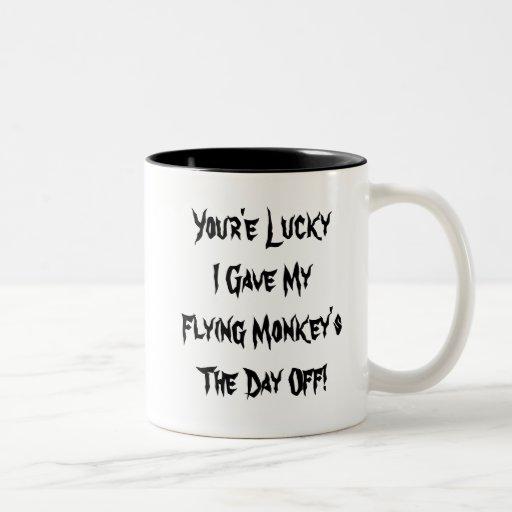 Flying Monkeys Coffee Mugs