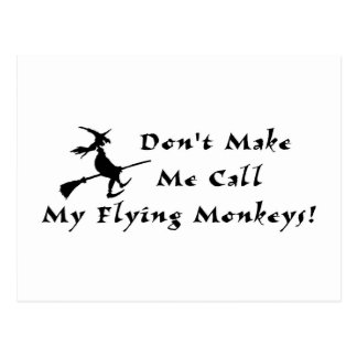 Flying Monkeys Postcard