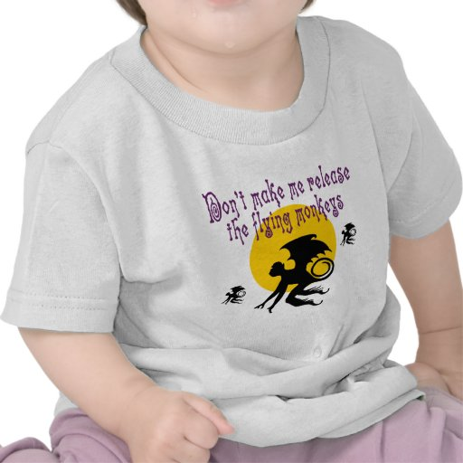 Flying Monkeys Tee Shirt Shirt