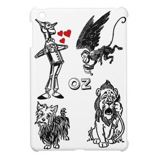 Flying Monkeys Tin Man Wizard of Oz Toto ipad mini iPad Mini Case