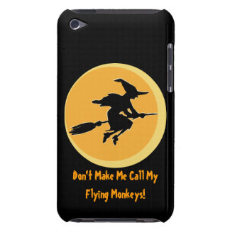 Flying Monkeys Witch (customizable) iPod Touch Cases