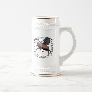 Flying Moose Aviation Beer Stein