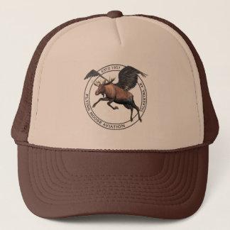 Flying Moose Aviation Logo Trucker Hat