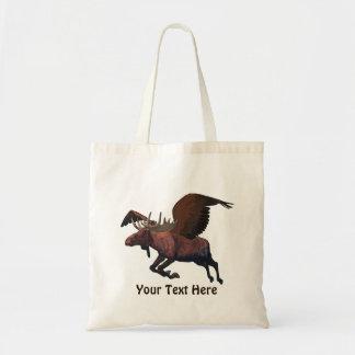 Flying Moose Canvas Bag