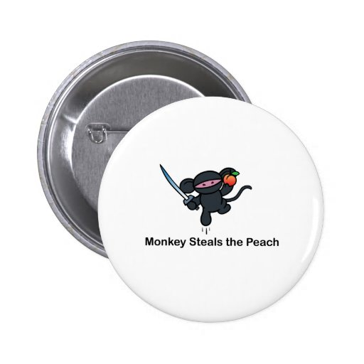 Flying Ninja Monkeys Steals the Peach Buttons
