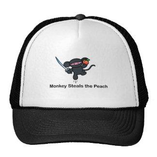 Flying Ninja Monkeys Steals the Peach Cap