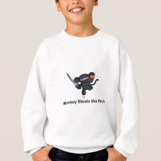 Flying Ninja Monkeys Steals the Peach Sweatshirt