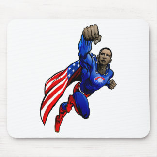 Flying Obama Mouse Pad