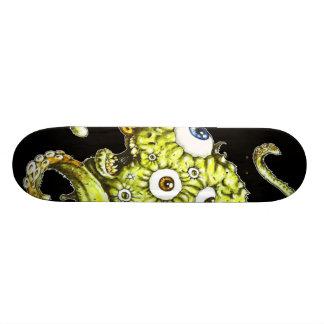 Flying Octopus Eyeball..........Thing Skate Deck