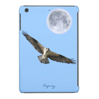 Flying Osprey Fish Eagle Moon iPad Mini Retina Case