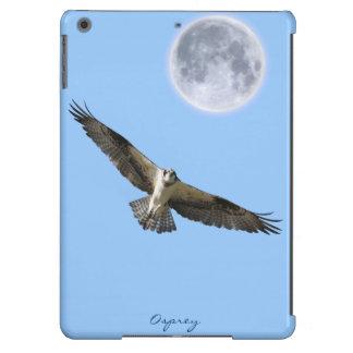 Flying Osprey Fish Eagle Moon iPad Air Cover