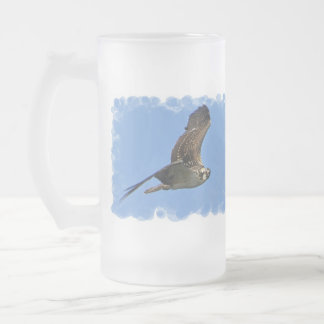 Flying Osprey Frosted Mug
