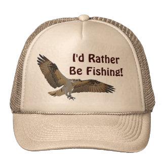 Flying Osprey Hunting for Fish Trucker Hat