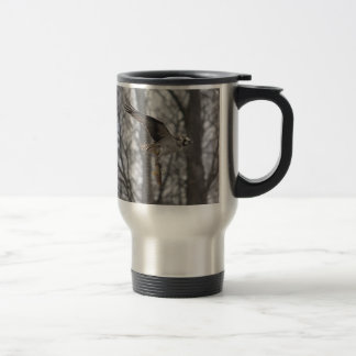 Flying Osprey Hunting for Fish Coffee Mugs