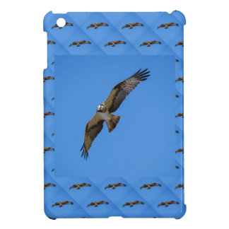 Flying osprey with a target in sight iPad mini covers