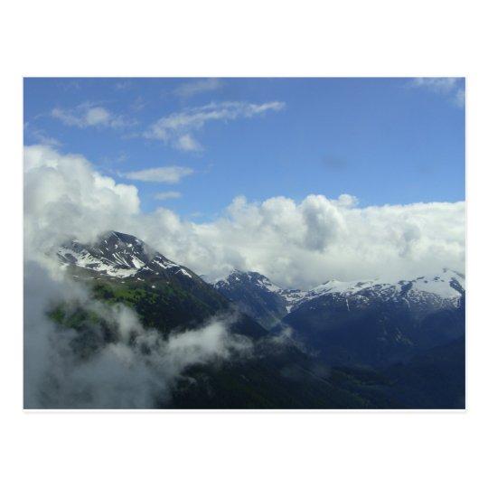 Flying Over the Blackcomb Mountains Postcard