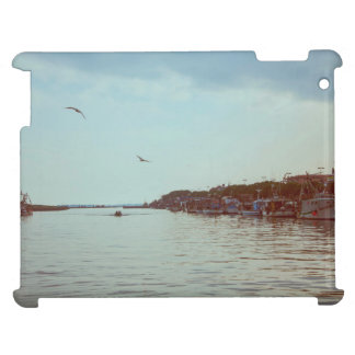 Flying over the lagoon iPad cover