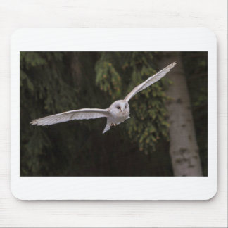 Flying owl mouse mat