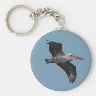 Flying Pelican 14 Keychain