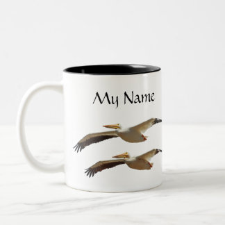 Flying Pelican 3 Mug