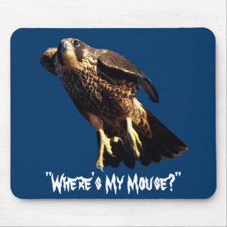 Flying PEREGRINE FALCON Collection Mouse Mat