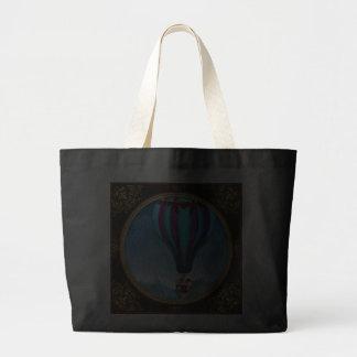 Flying Pig - Balloon - Up up and Away Jumbo Tote Bag