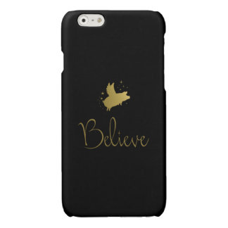Flying Pig-Believe iPhone 6 Plus Case
