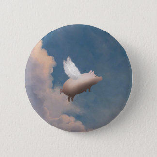 FLYING PIG BUTTON