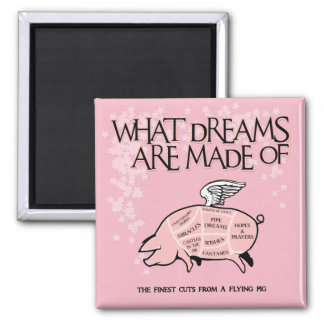 Flying Pig Cuts - What Dreams Are Made Of Magnet