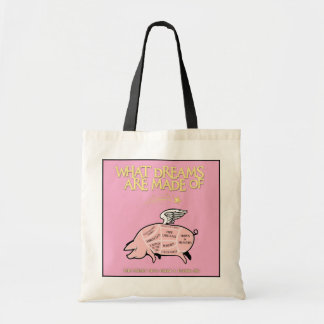 Flying Pig Cuts-What Dreams Are Made Of Tote Bag