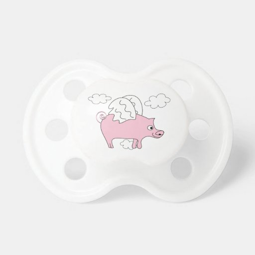Flying Pig Pacifier