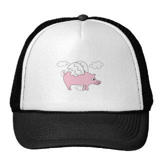 Flying Pig Hats