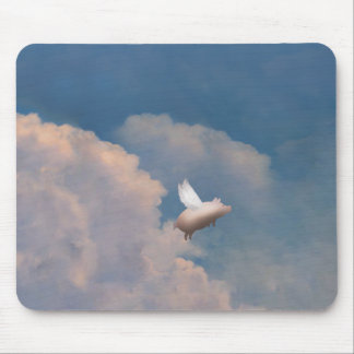 flying pig mousepad