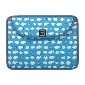 Flying Pig Patterned Sleeve For MacBook Pro