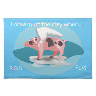 Flying Pig Placemats