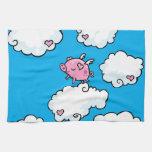 Flying Pig Towel