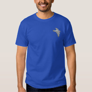 Flying Pigeon Embroidered T-Shirt