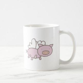 Flying Piggy Coffee Mug
