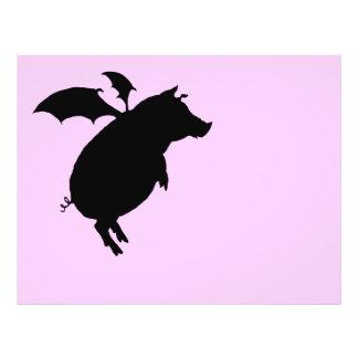 Flying piggy flyers