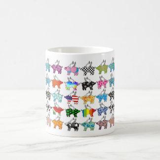 flying pigs coffee mug
