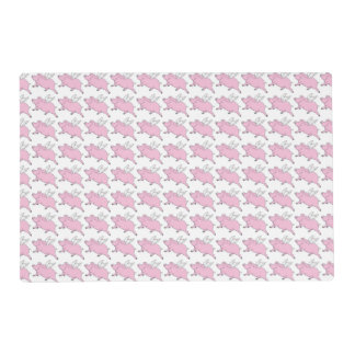 Flying Pigs Place Mats Laminated Place Mat