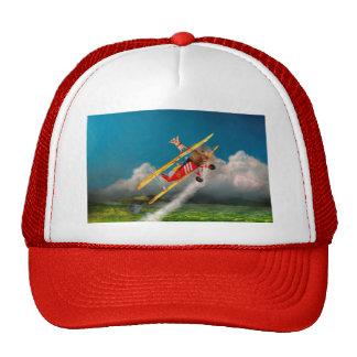 Flying Pigs - Plane - Hog Wild Trucker Hat