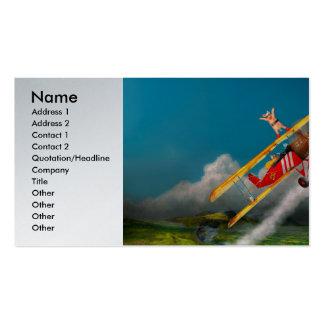 Flying Pigs - Plane - Hog Wild Pack Of Standard Business Cards