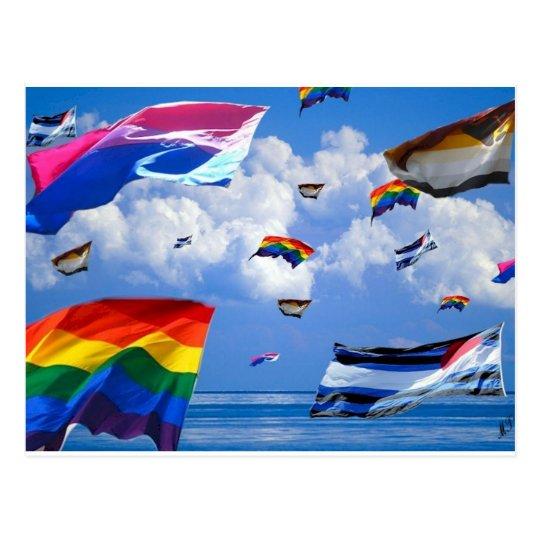 """Flying Pride"" by Mark Thaler Postcard"