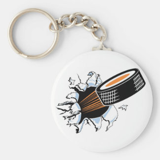 Flying Puck Keychains