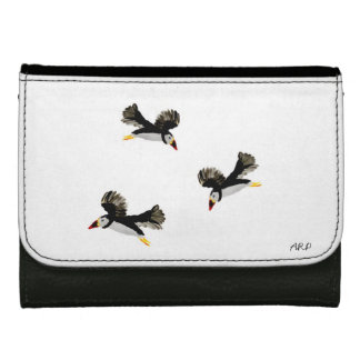 Flying Puffin Fun Wallets