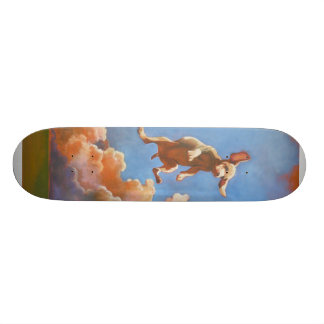 Flying Puppy Mini Skateboard