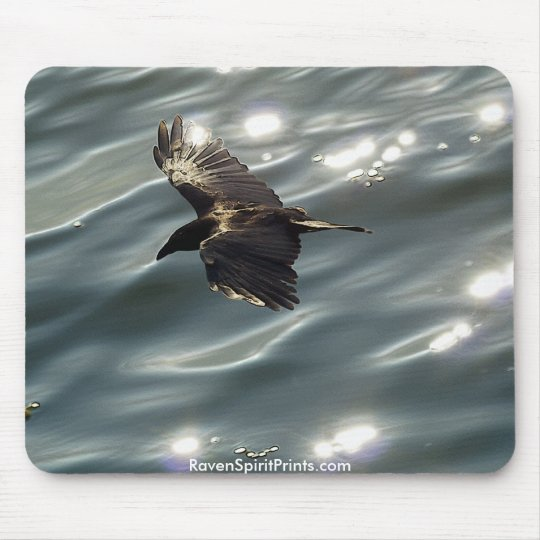 Flying RAVEN\CROW Mousepad