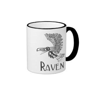 Flying Raven Coffee Mug