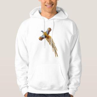 Flying Reeves Pheasant Hoodie